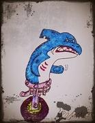 Ben Shultz  (one wheeled shark)