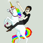 Glassy, Supreme Unicorn Being