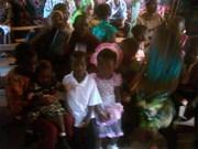 Children During Chrismas Service 1