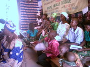 Congregation Listening To The Chrismas Message 2