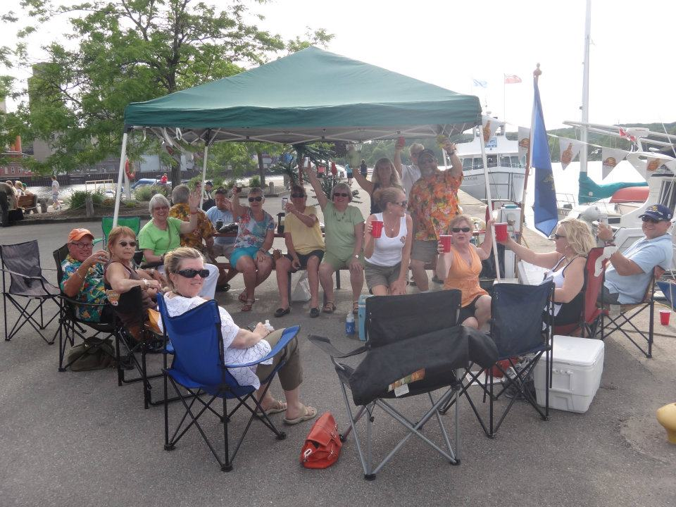 2012 Party on the Dock Midland