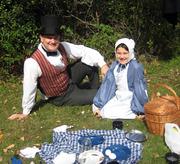 old-fashioned picnic