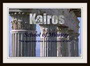 Kairos School of Ministry