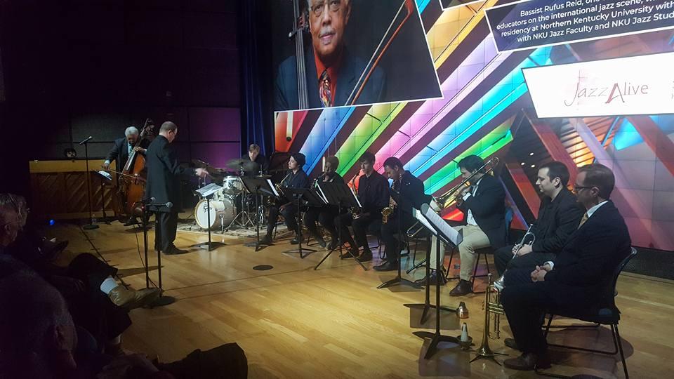 Rufus Reid with NKU Jazz Ensemble