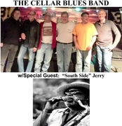 """CASTLE SHANNON NIGHT @ LINDEN GROVE NITE CLUB w/CELLAR BLUES BAND and """"South Side"""" Jerry"""