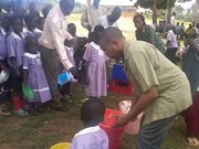 Bishop-Elect Soaries Feeding Orphans in Uganda