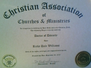 Bishop's Doctorate