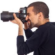 Cameraman Blue