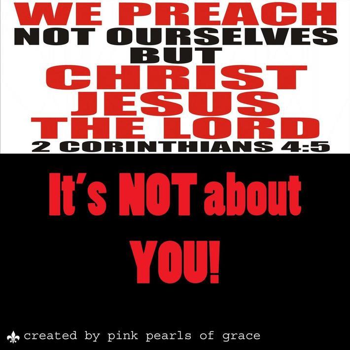 What you Preach!!!