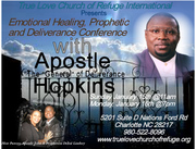 Emotional Healing, Prophetic and Deliverance Conference with Apostle Ivory L. Hopkins