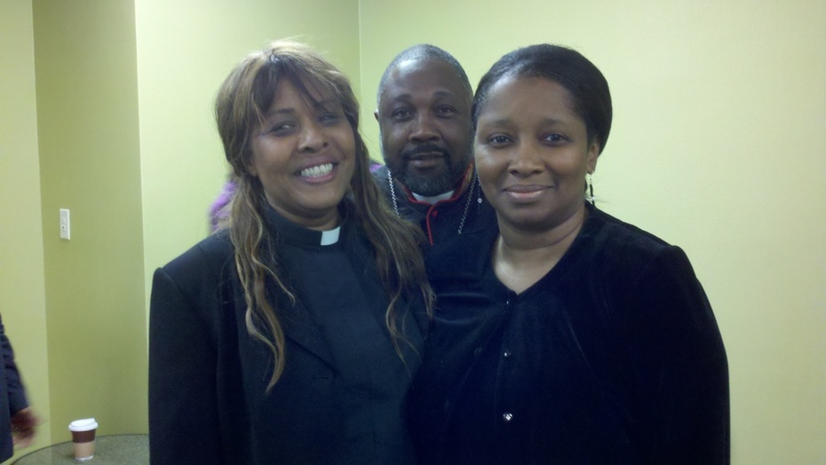 the gathering of sons and daughters  apostle adrienne williams, prophet gary becton , prophetess sandra dukes