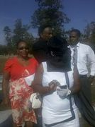 My family...Dad, Big Sissy and little brother with me