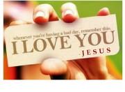 A JESUS LOVES YOU PHOTO REMINDER