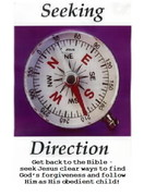 a message Back to the Bible seeking direction to find Jesus
