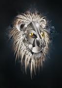 Metallic Lion
