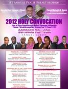 Holy Convocation 2012