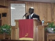 Kenneth Jenkins preachng Prayer Breakfast