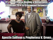 Apostle Sullivan & Prophetess V. Green 2014