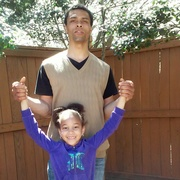 my husband and daughter...