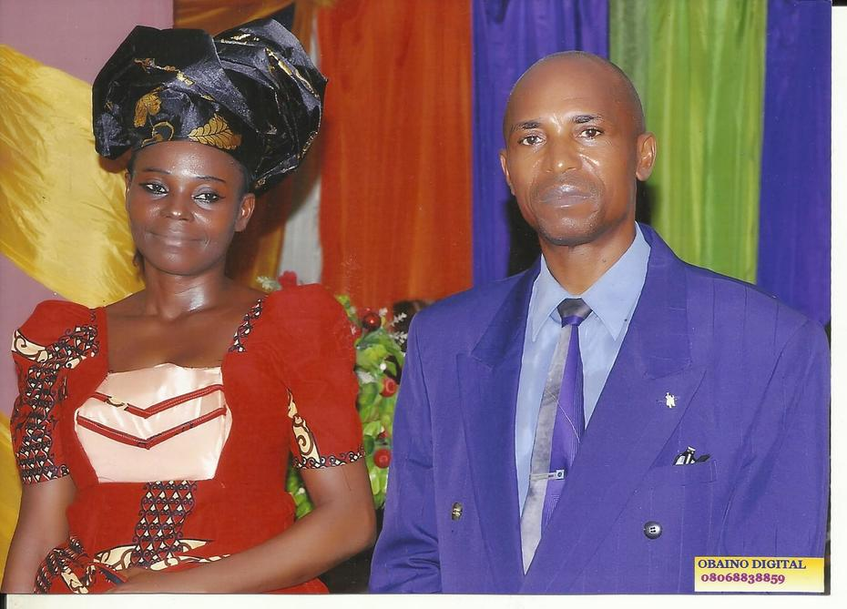 Rev. Fidelis O. Nwaka And His Wife Joy