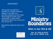 Ministry Boundaries