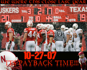 Huskers VS Texas Payback