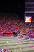 Huskers - Southwest corner of Memorial Stadium