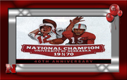 40th Anniversay - National Champions