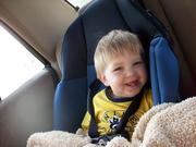 happy day in the car