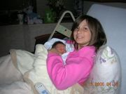aunt gabby smiling with me in hosp 12-13