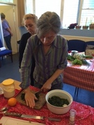 Cooking with foraged food workshop