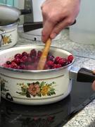 Cranberry sauce - gorgeous colours