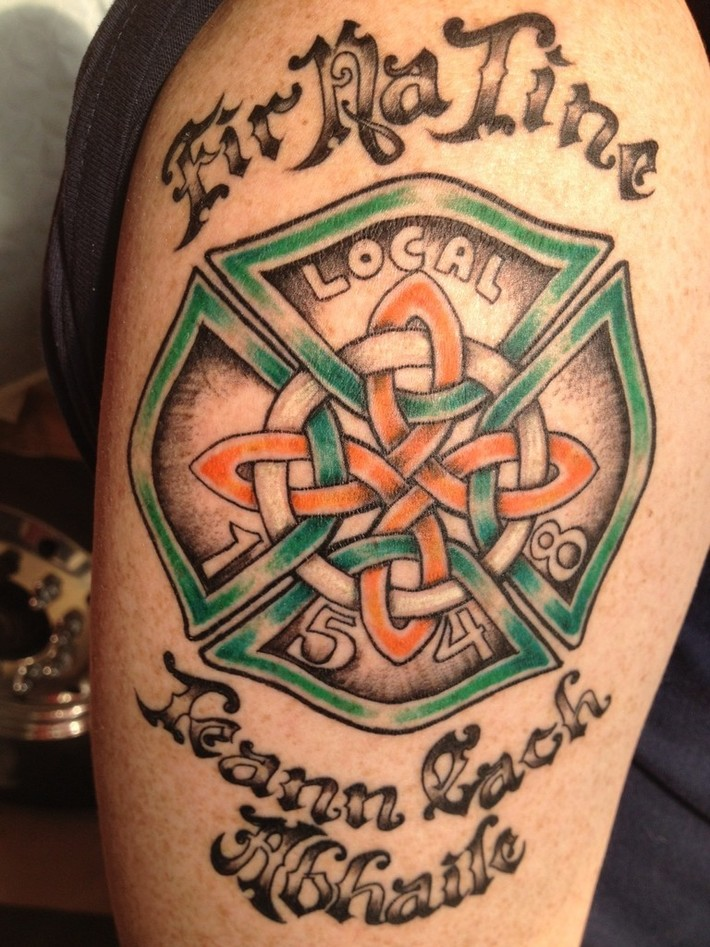 Irish with a touch of IAFF