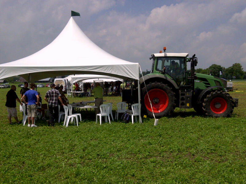 Fun at the Fendt Tractor Field Days Demo