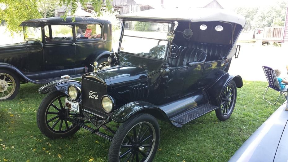 Beautifully Restored Model T Ford at Fanshawe Pioneer Village