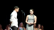 Scott & Tessa Congratulate The CNE Ag Ambassadors