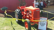 1952 Model Case S Tractor at Outdoor Farm Show