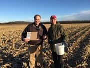 Out Soil Sampling With the New LaserAg System with Steve Redmond