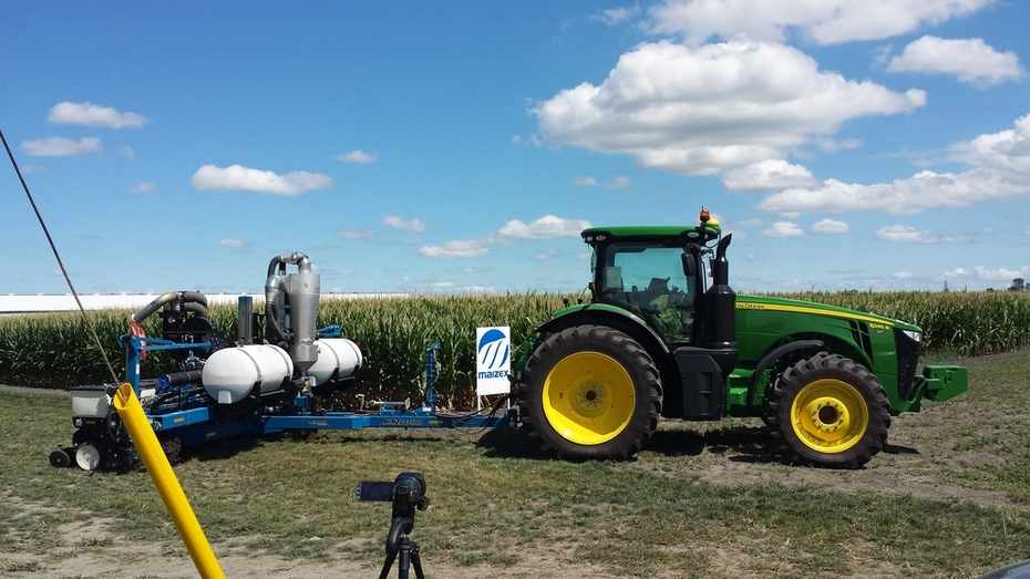 Equipment Displays at Maizex Seeds