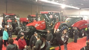 New Case IH Optum Tractor at London Farm Show