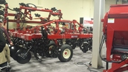 Busy Salford Exhibit with Tillage Equipment