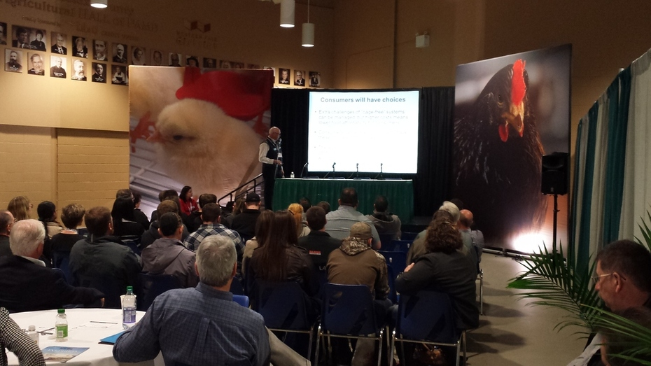 Presentations at Poultry Show @Western Fair