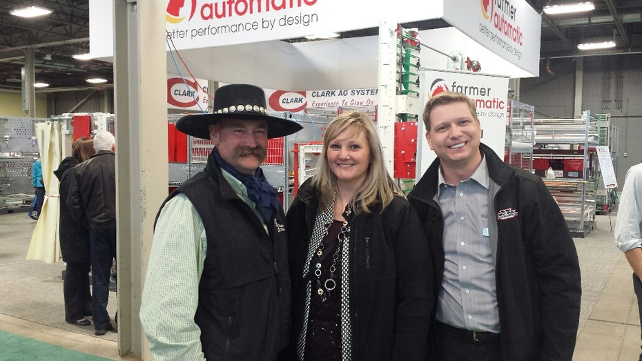 Trent Loos at Poultry Show