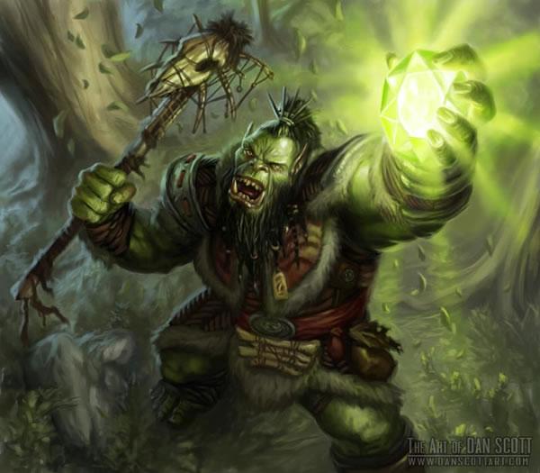 Character Build The Legendary Survivor Orc Shamanic