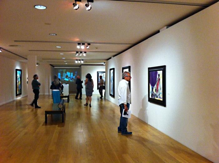 exposições de arte na Baganha Galeria