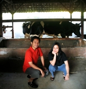 Me, My Brother and the Cows !!