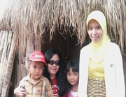 At traditional house