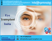 India has become a medical tourism destination for low-cost eye transplant surgery
