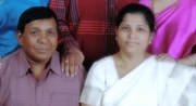 Me and my wife Kamla