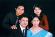 Samuel, Reena, Ben & Ann.